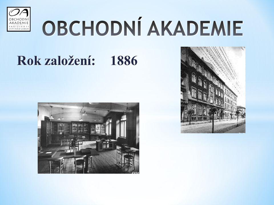 Rok založení: 1886