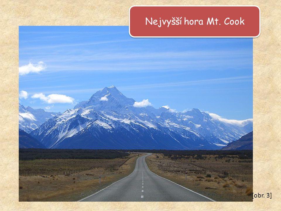 Nejvyšší hora Mt. Cook [obr. 3]