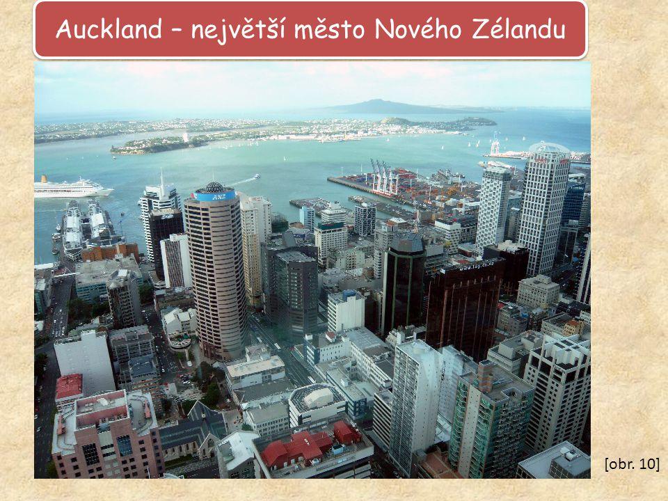 Auckland – největší město Nového Zélandu [obr. 10]