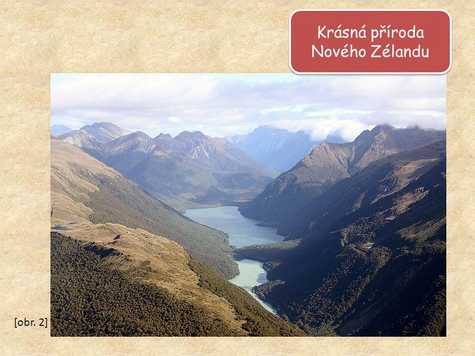 Krásná příroda Nového Zélandu Krásná příroda Nového Zélandu