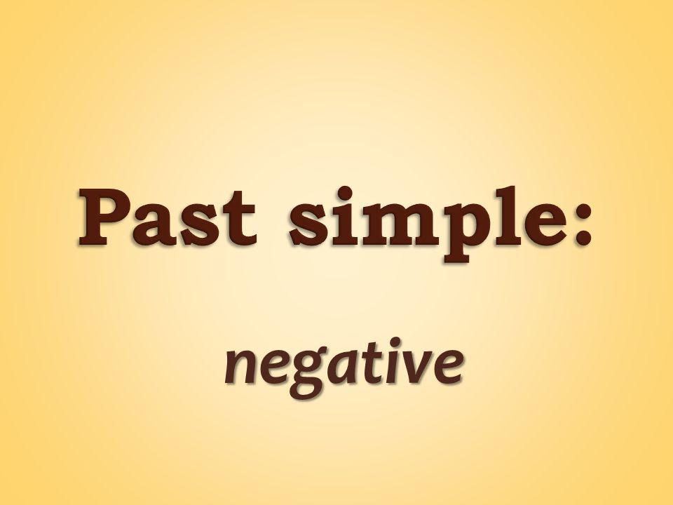 negative negative