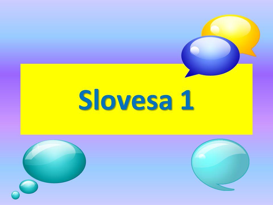Slovesa 1