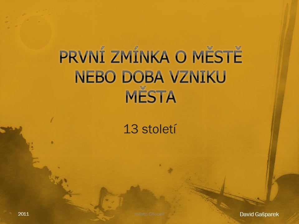2011město Choceň
