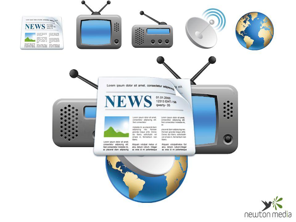 Výběr relevantních zpráv podle klientem definovaných témat Monitoring médií