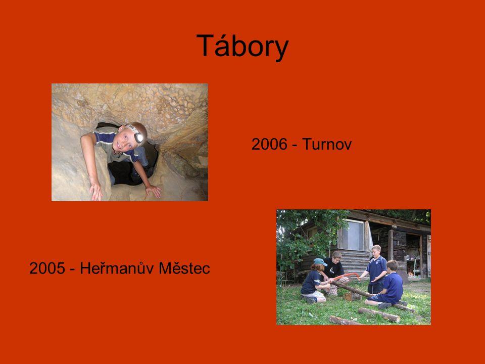 Tábory 2006 - Turnov 2005 - Heřmanův Městec