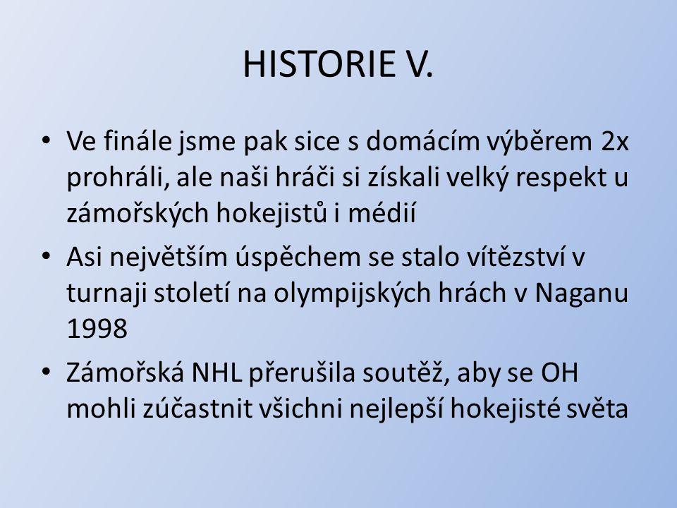 HISTORIE V.