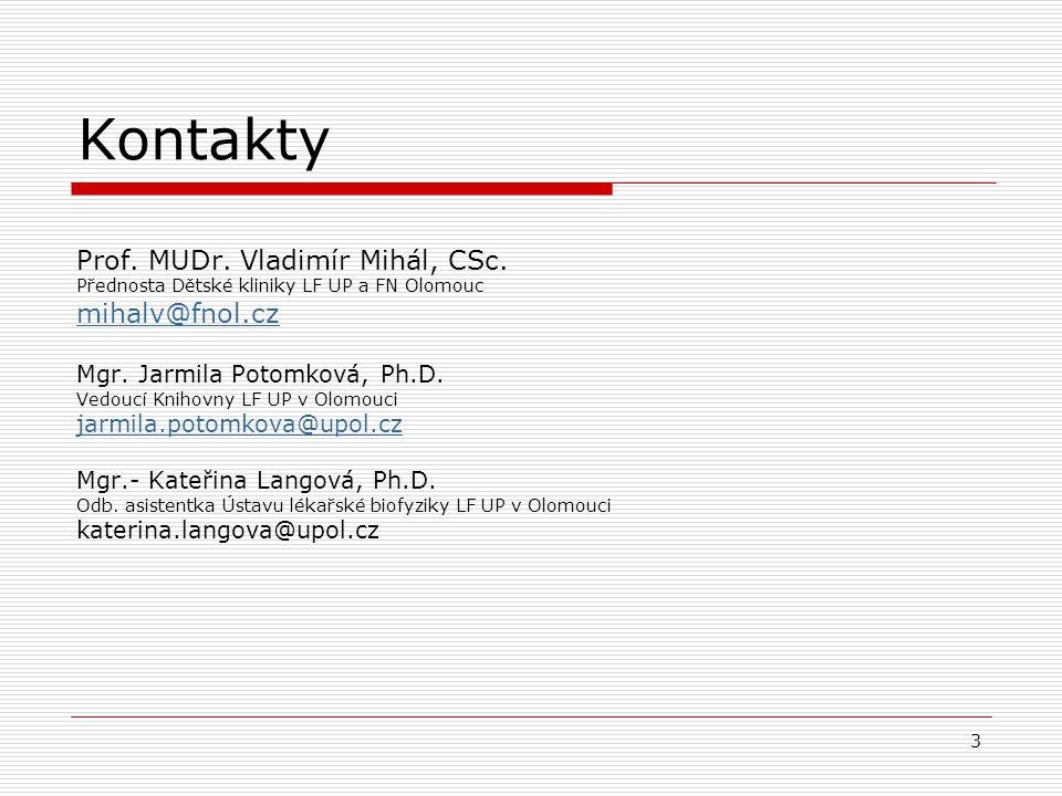 Příklad publikace randomizovaného kontrolovaného pokusu (2) Randomizované (náhodné) rozdělení )  291 dětí  Věk 6 - 23 měsíců  Akutní otitis media  Diagnóza podle přísných kritérií  Intervence: amoxicillin-clavulanate nebo placebo po dobu 10 dnů Sledování  Symptomatická odpověď  Míra klinického selhání.