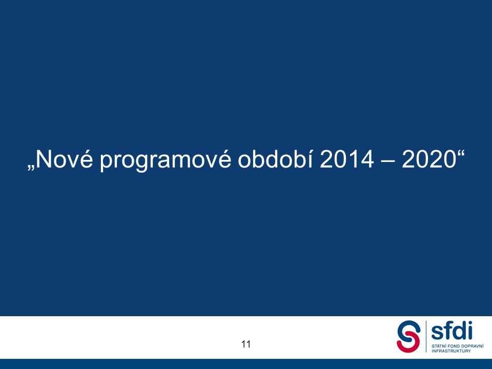 """""""Nové programové období 2014 – 2020"""" 11"""