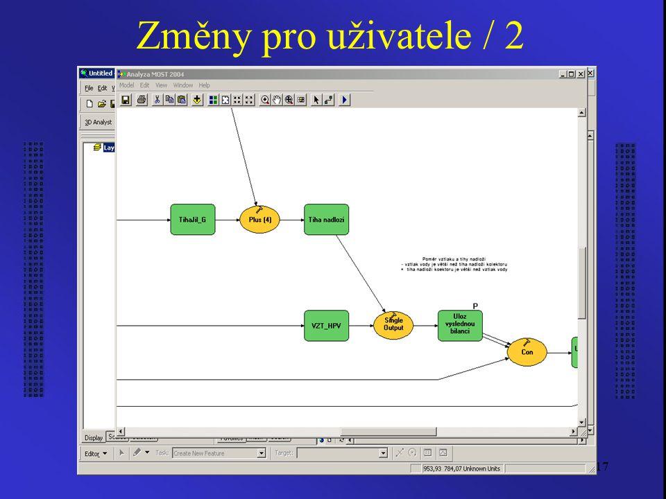 Ruzicka, J.: PMK17 Změny pro uživatele / 2