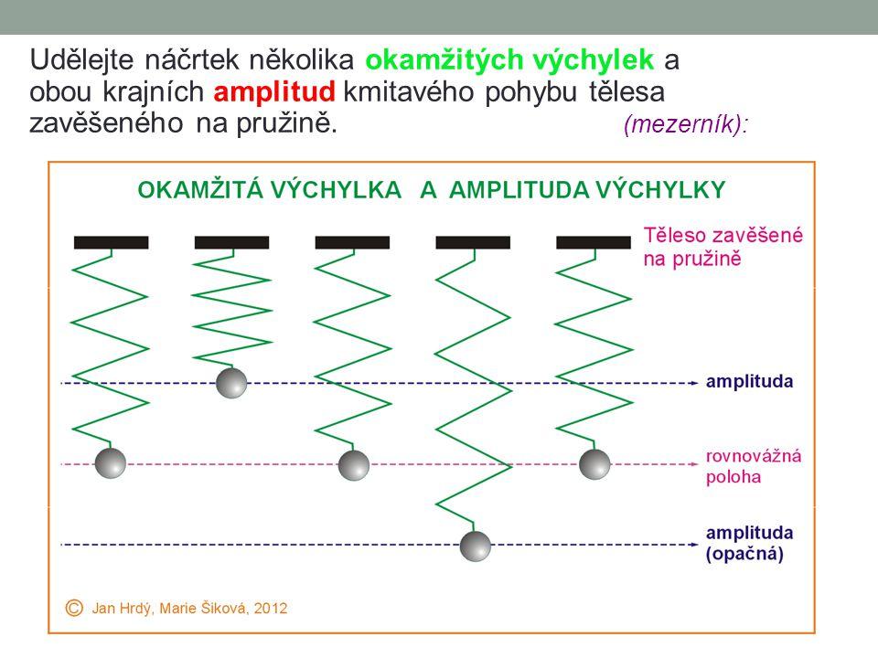 03. Harmonické kmitání Zvláštním a důležitým případem mechanických kmitů jsou tzv. jednoduché kmitavé pohyby, jejichž okamžitá výchylka y je dána harm