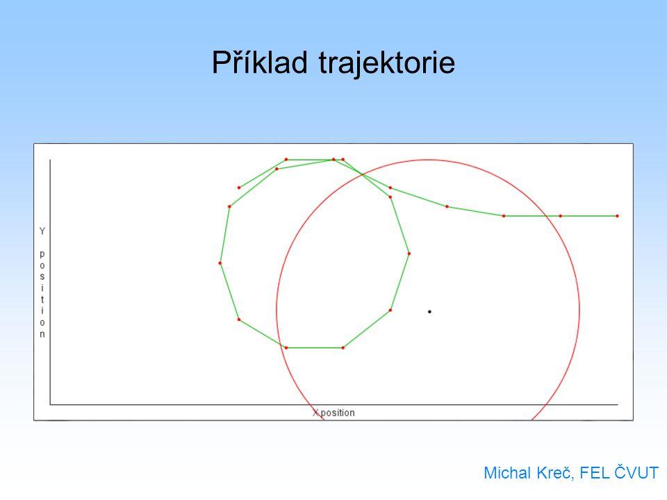 Příklad trajektorie Michal Kreč, FEL ČVUT