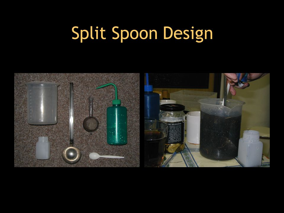 Split Spoon Design