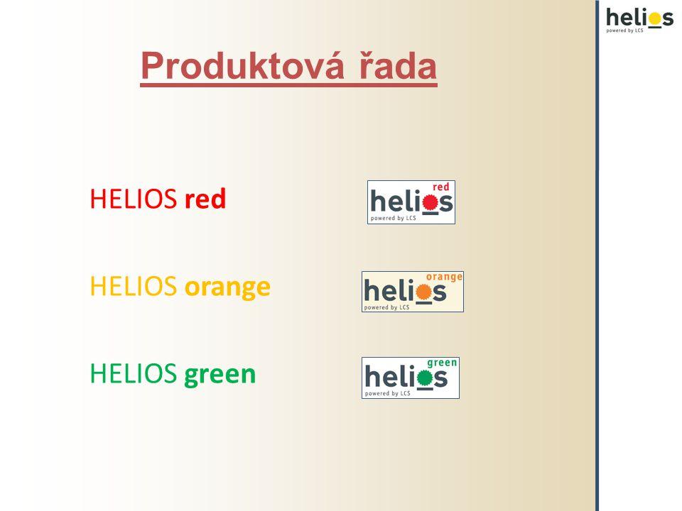 Produktová řada HELIOS red HELIOS orange HELIOS green