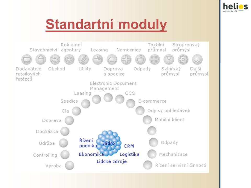 Jádro Workflow Podpora pro čárové kódy EDI komunikace