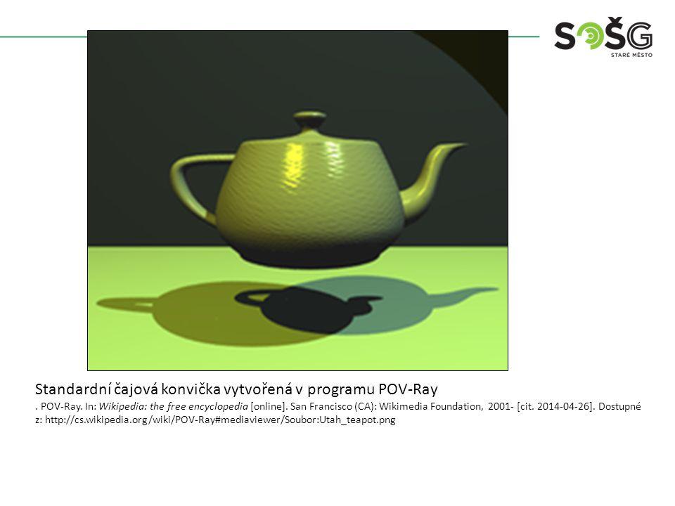 Scéna po vyrendrování POV-Ray.In: Wikipedia: the free encyclopedia [online].