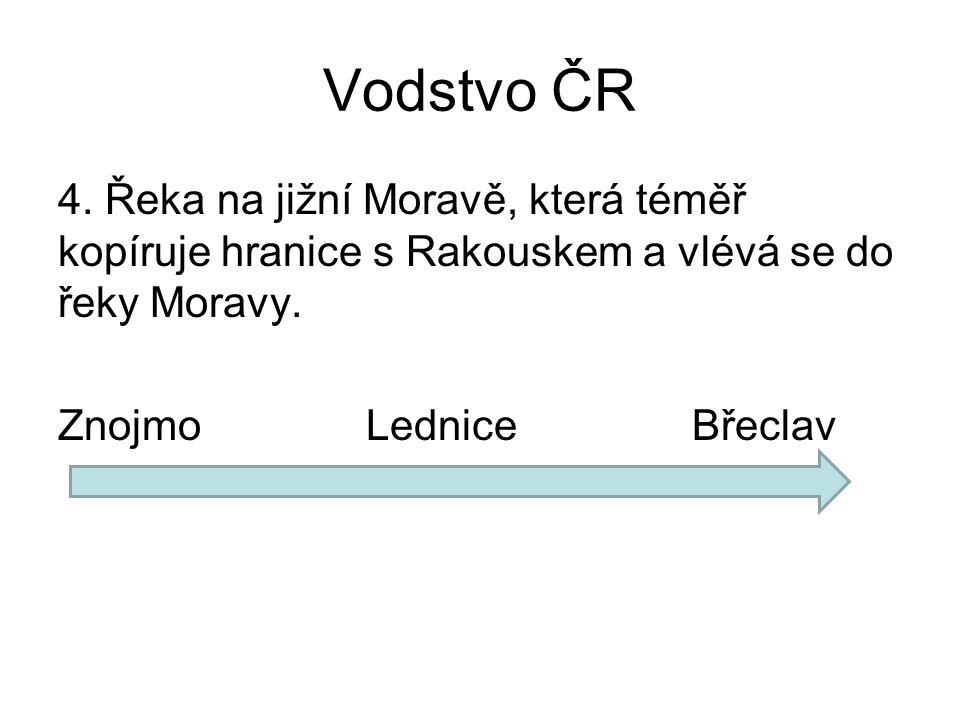Vodstvo ČR 4.