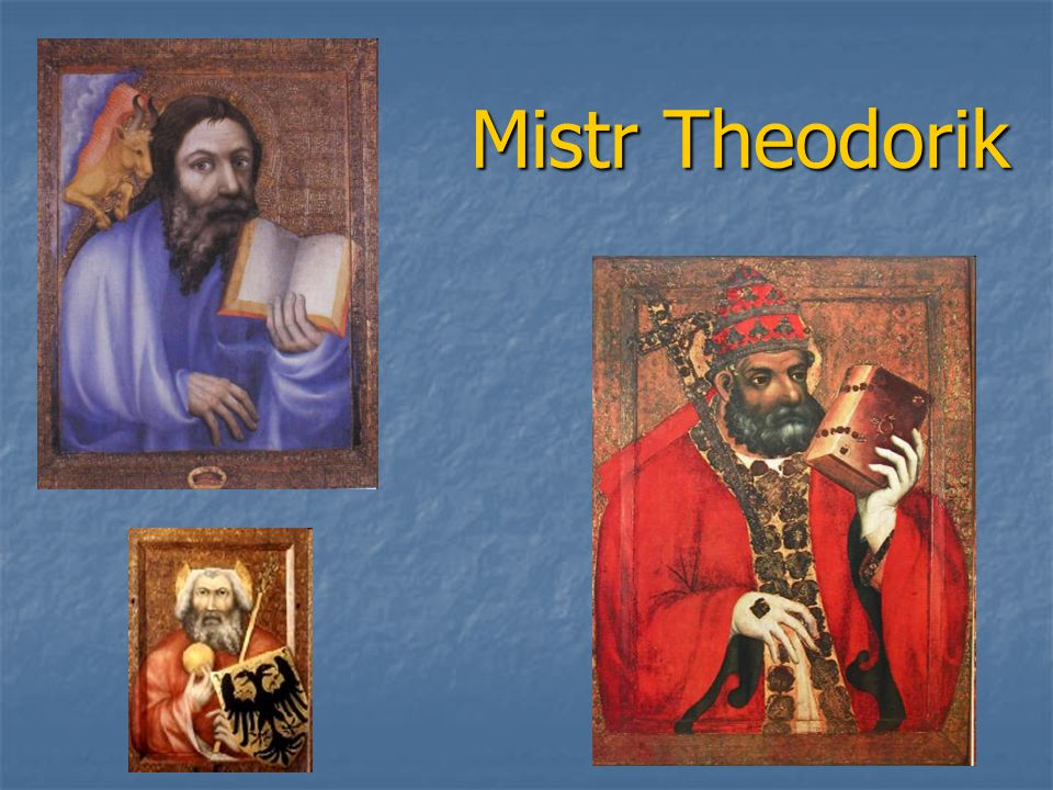 Mistr Theodorik Mistr Theodorik