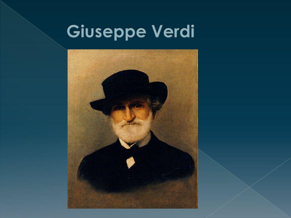 """ Italský skladatel  Současník R. Wagnera  Jeho opery jsou méně vážné """"lehčí Verdi v Palermu"""