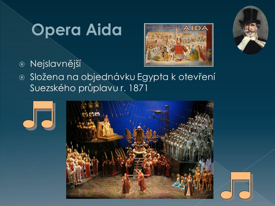  1) CD č.23 / HV 6  Opera AIDA  - Triumfální pochod  2) CD č.