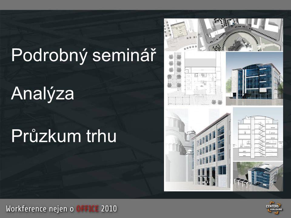Podrobný seminář Analýza Průzkum trhu