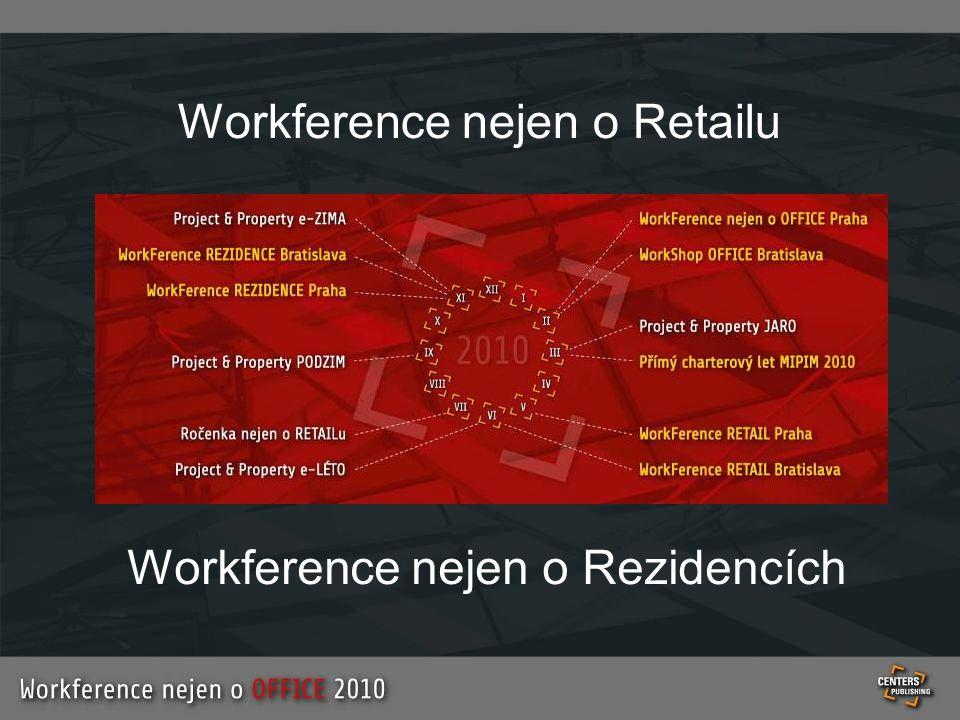 Workference nejen o Rezidencích Workference nejen o Retailu