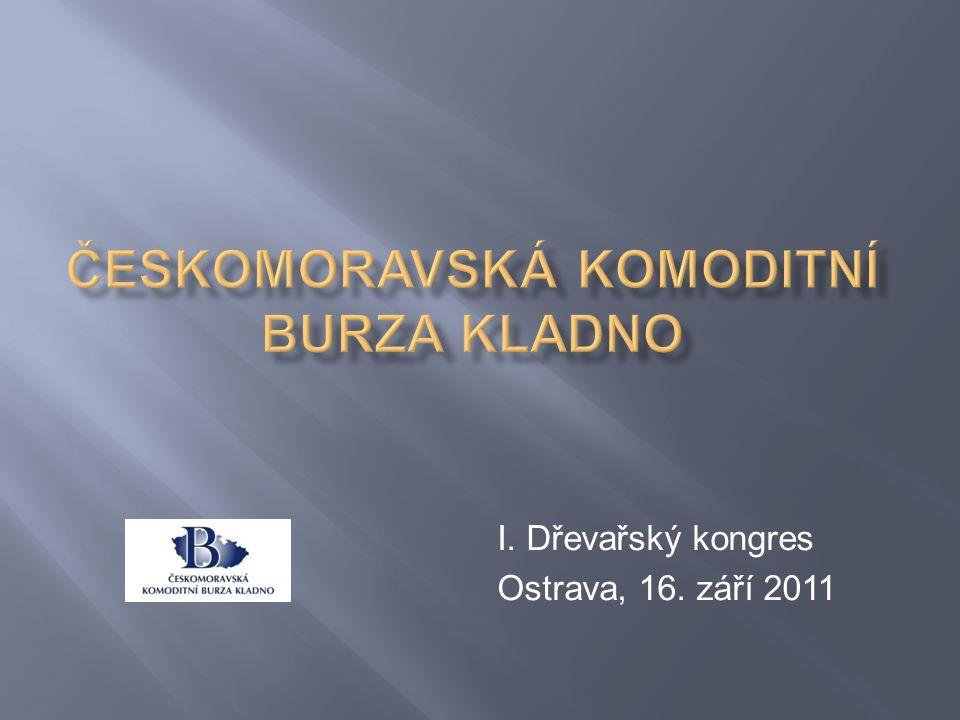 I. Dřevařský kongres Ostrava, 16. září 2011