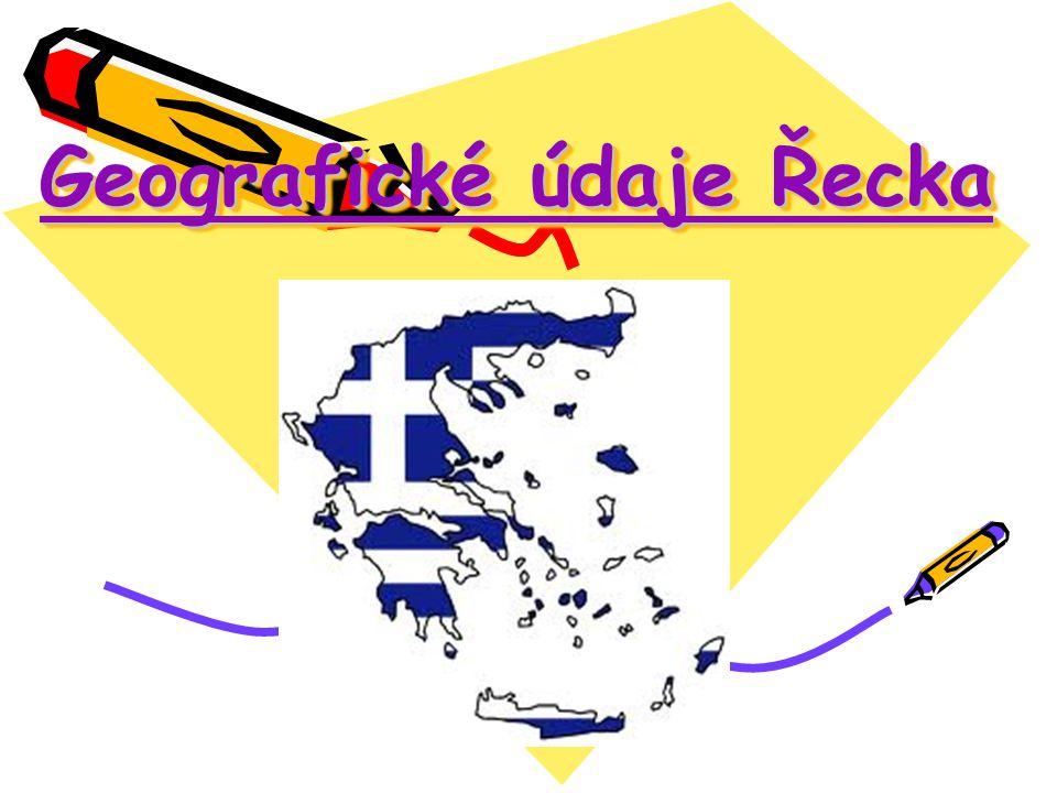 Geografické údaje Řecka