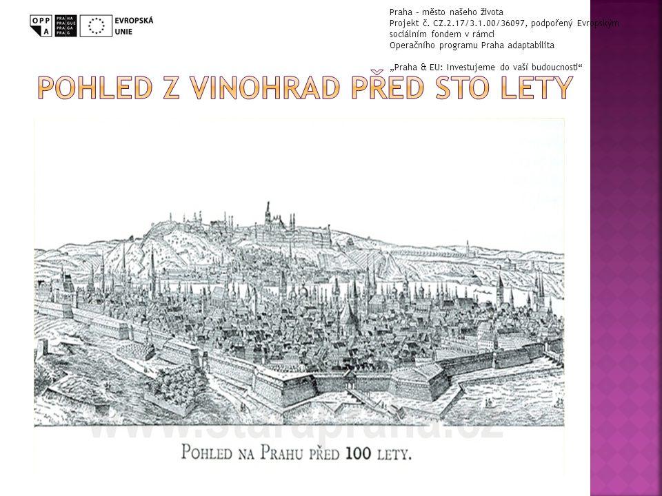 Praha – město našeho života Projekt č.