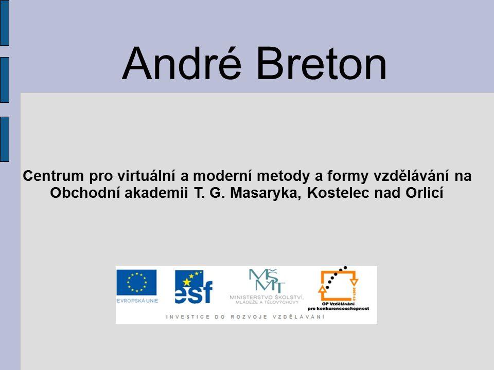 André Breton Centrum pro virtuální a moderní metody a formy vzdělávání na Obchodní akademii T. G. Masaryka, Kostelec nad Orlicí