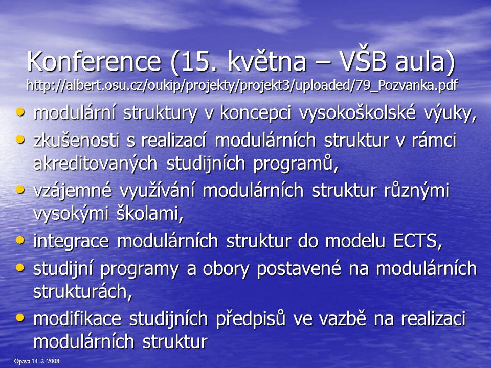 Opava 14. 2. 2008 Konference (15.