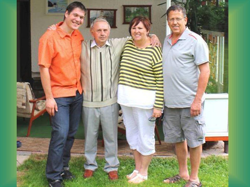 Paní Vicki s manželem po příjezdu do Vysočan