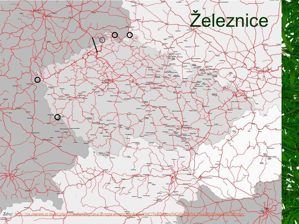 Zdroj: http://jza.smerem.cz/index.php?stranka=Doprava/Evropa/evropa.php&title=%C5%BDelezni%C4%8Dn%C3%AD%20mapa%20Evropyhttp://jza.smerem.cz/index.php?