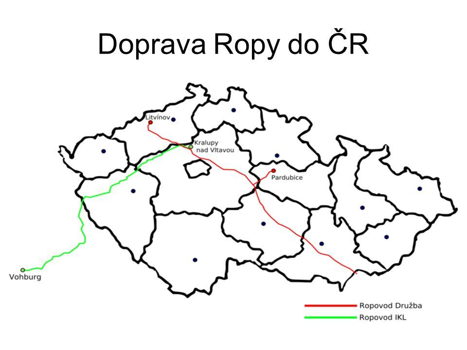Doprava Ropy do ČR