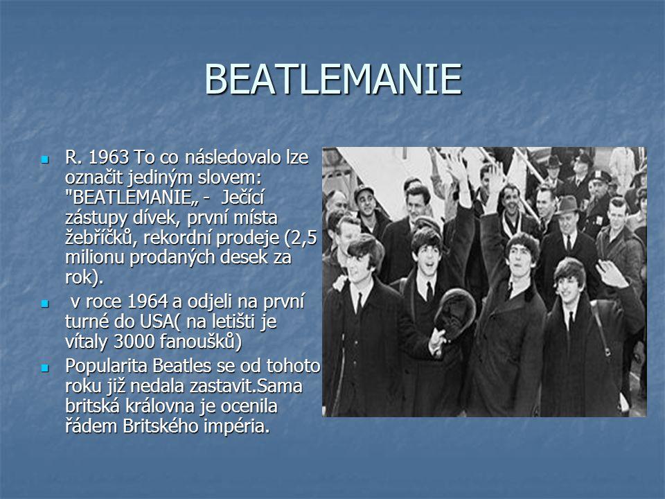 BEATLEMANIE R.