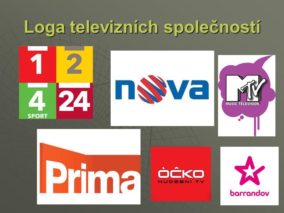 Loga televizních společností