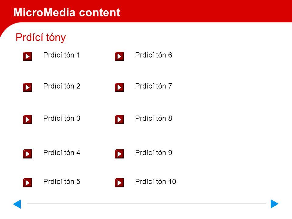 MicroMedia content V A R O V Á N Í Jen pro silné povahy.