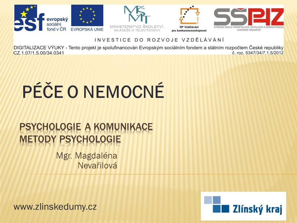 Anotace Materiál seznamuje žáky s některými výzkumnými metodami, užívanými v psychologii.