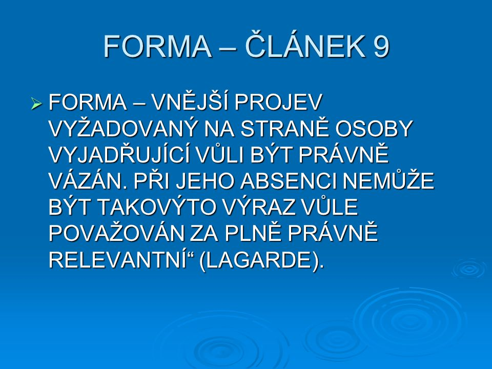 ĆLÁNEK 7 ODST.