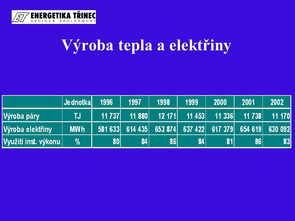 Výroba tepla a elektřiny
