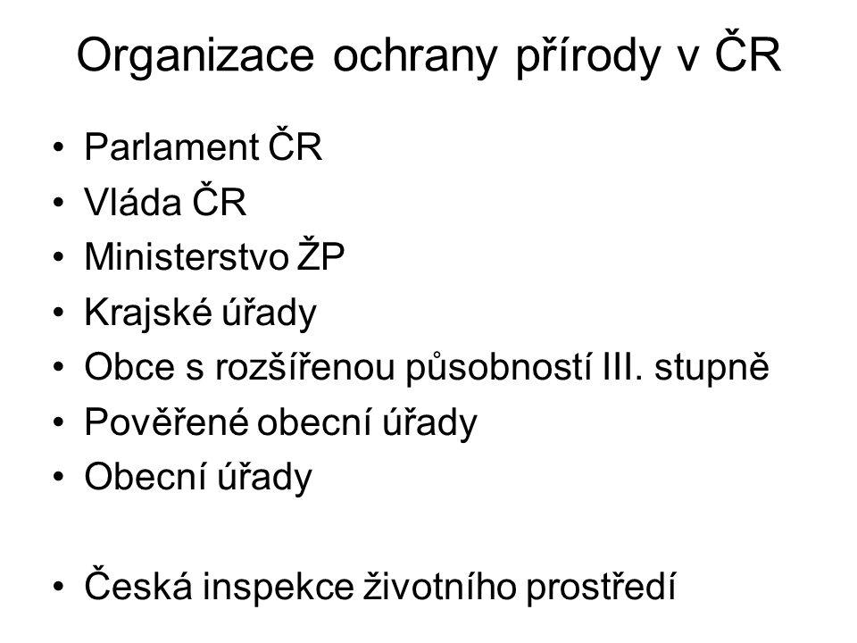 CHKO, NP a PHO v ČR v r. 1992