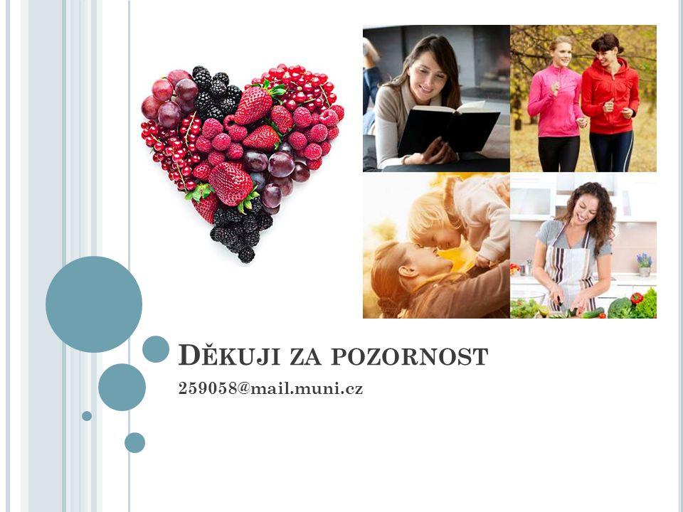 D ĚKUJI ZA POZORNOST 259058@mail.muni.cz