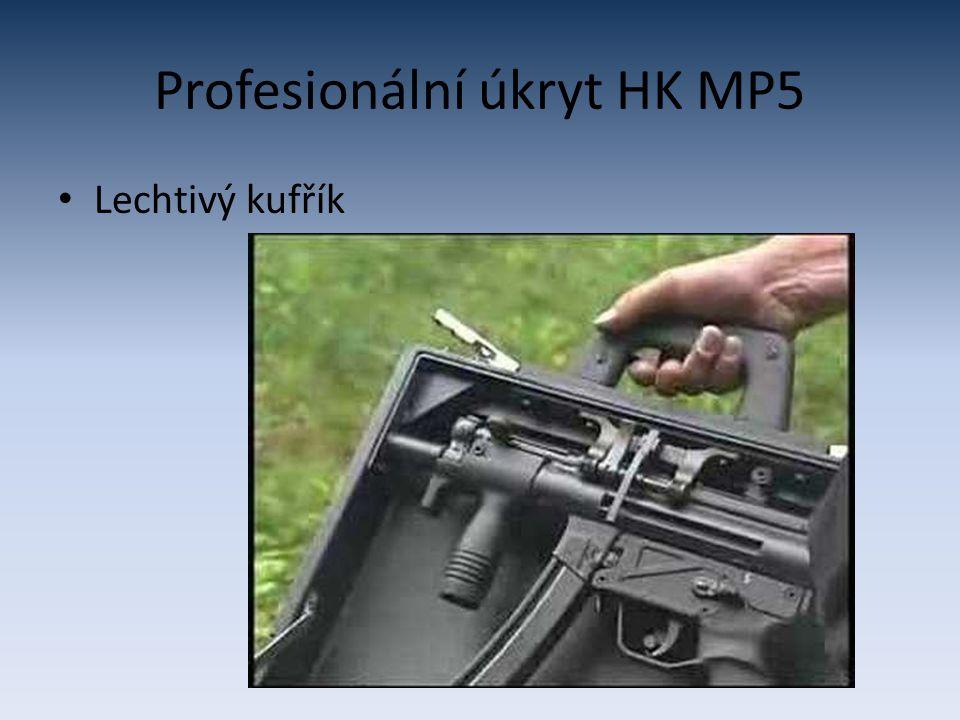 Profesionální úkryt HK MP5 Lechtivý kufřík