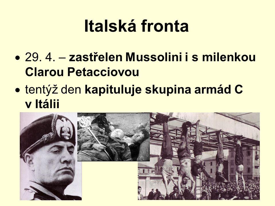 Italská fronta  29.4.