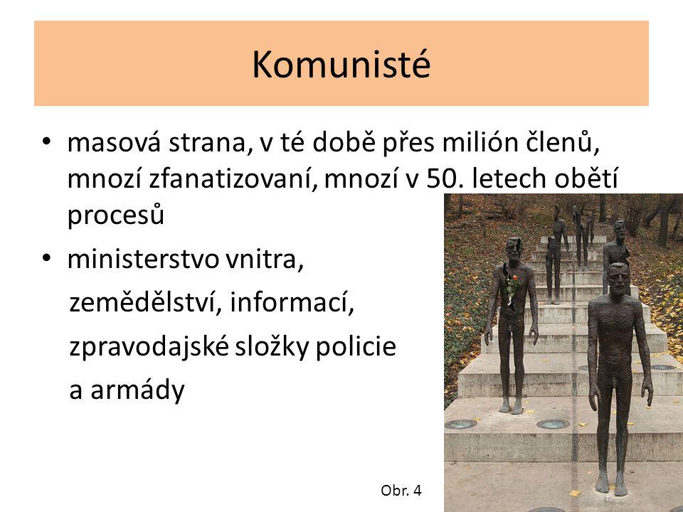 """K.Gottwald – projev na Václavském náměstí """"Právě se vracím z Hradu od prezidenta republiky."""