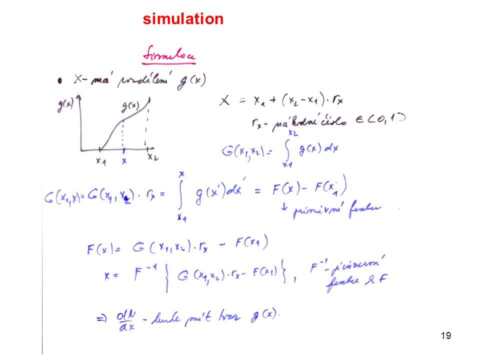 19 simulation