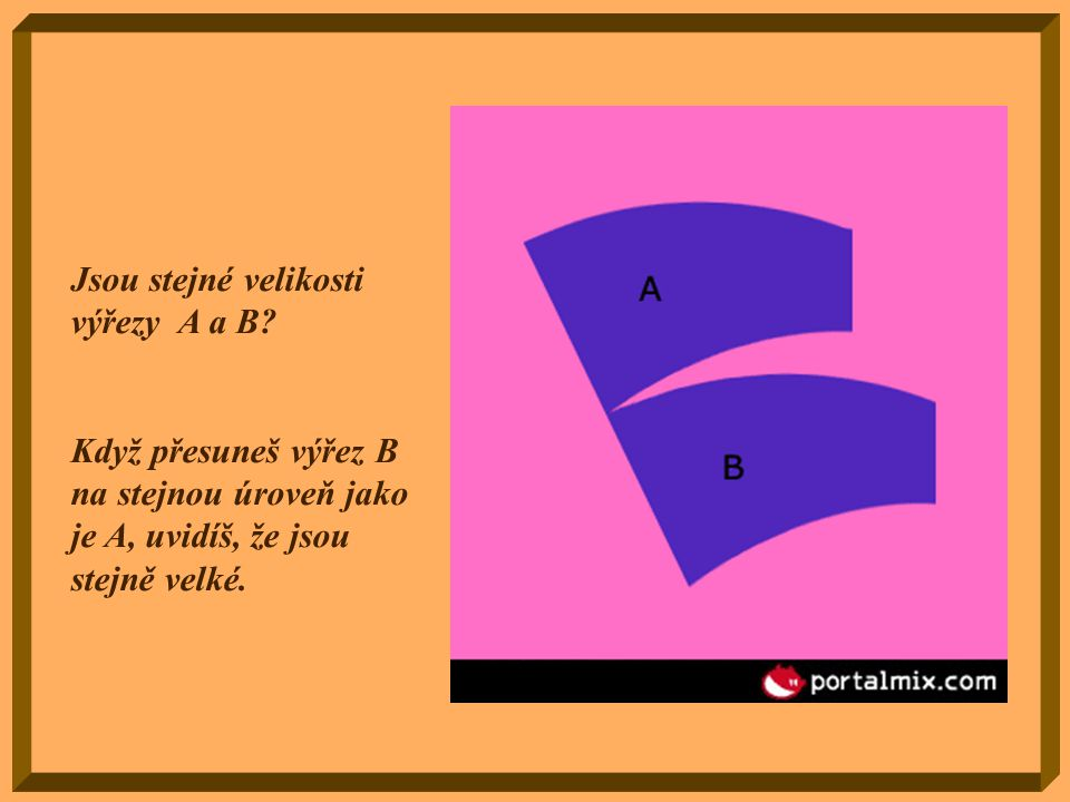 Kolik sloupů vidíš? Dva čtvercové…. Nebo tři kulaté ?