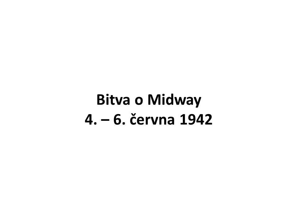 Bitva o Midway 4. – 6. června 1942