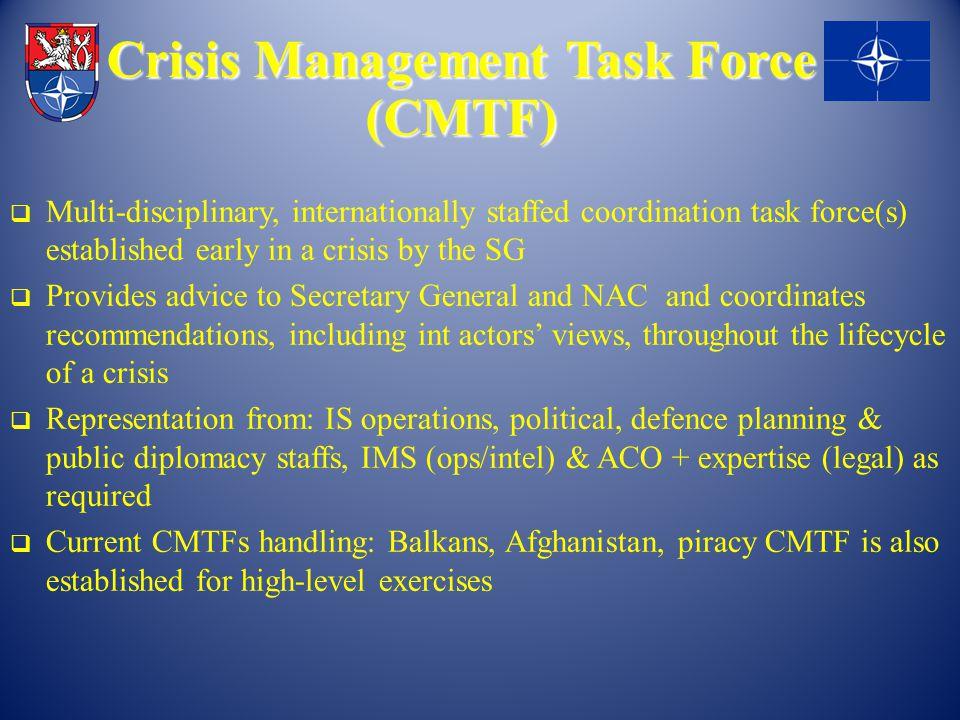 MECHANIZMY NATO CEP Civilní experti – Přibližně 400 expertů (aktivní profesionálové) – Použití v místě pracoviště (e-mail, telefon) – Použití tzv.