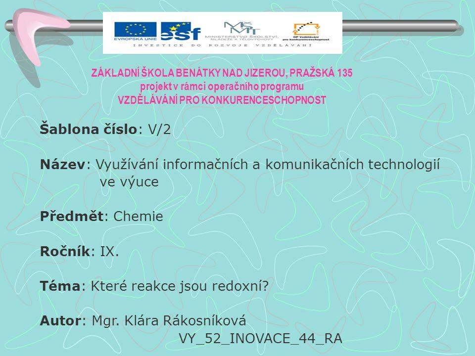 Anotace: PowerPointová prezentace o výrobě hliníku elektrolýzou Klíčová slova: Hliník, elektroda- anoda, katoda, elektrolýza