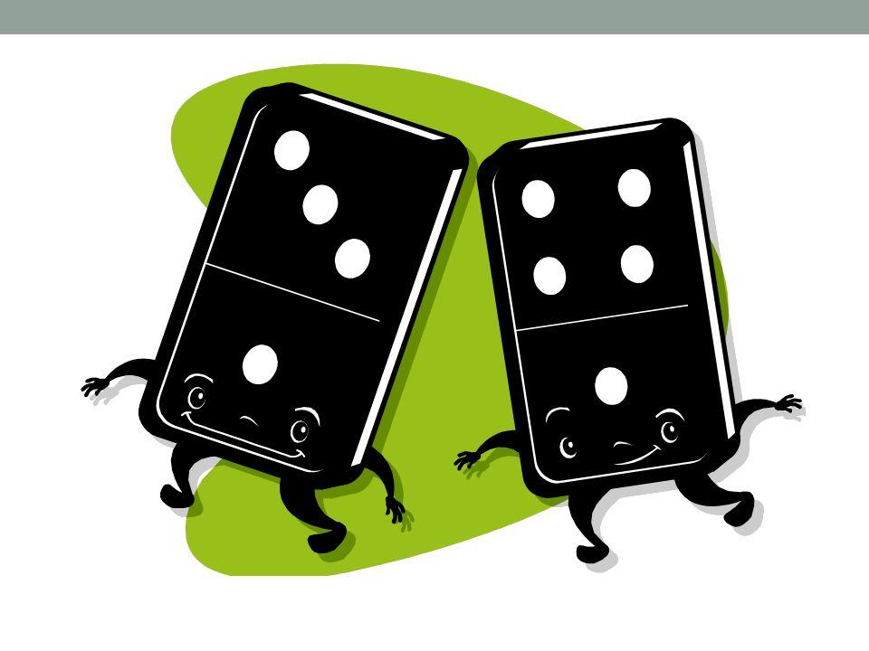 Zapište čtveřici příkladů k dominovým kartám.